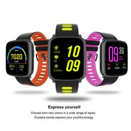 $enCountryForm.capitalKeyWord Australia - GV68 Bluetooth Smart Watch Wrist BLE 4.0 IP68 Waterproof IPS 1.22 Big Screen Fitness Tracking Watch