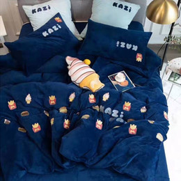 Queen size princess bedding online shopping - Ice Cream Princess bedding set twin size for girls room coverlets d printed hot