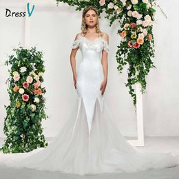 wedding dresses straps NZ - wholesale ivory elegant spaghetti straps beading lace sleeveless wedding dress floor length simple bridal gowns wedding dresses