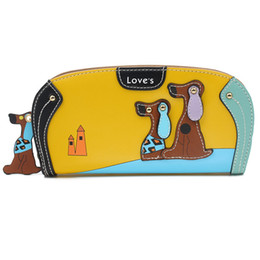 $enCountryForm.capitalKeyWord Australia - Leather Wallets Female Hasp Women Wallet Card Holder Ladies Long Purse Clutch Cartoon Pattern Woman Wallets WWS139