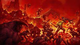 $enCountryForm.capitalKeyWord NZ - Doom Video Game Decor wall Art Silk Poster 24x36inch 24x43inch