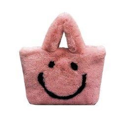 Girls plush handbaGs online shopping - 2020 New Woman Handbags Cute Wild Autumn And Winter Plush Shoulder Messenger Bag Leisure Girl youth
