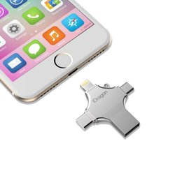 $enCountryForm.capitalKeyWord Australia - New 4 in 1 type-c iPhone flash drive OTG Micro USB 2.0 USB disk usb pen drive 128gb backup memory stick