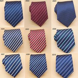 $enCountryForm.capitalKeyWord Australia - Men's business foreign trade fashion tie polyester striped dress fashion tie business groom groomsman tie