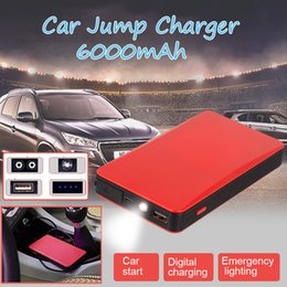 Battery charger Bank online shopping - Muti fuction Mini Portable V Car Battery Charger car jump starter Battery power start ignition charge treasure Power Bank