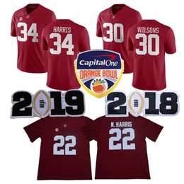 4887de5be AlAbAmA jerseys online shopping - College Alabama Crimson Tide Jersey  Damien Harris Najee Harris Mack Wilson