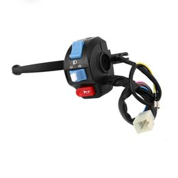 Levers Universal NZ - 2018 Universal Motorcycle Switchs Black Left Brake Lever Light Switch Control Fit For Scooter Moped GY6 50cc 150 Hot