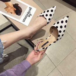 $enCountryForm.capitalKeyWord NZ - Gorgeous2019 Recommend Magazine Back Air Single Shoe Woman Shallow Mouth Sharp Fine With High-heeled Shoes Wave Point Temperament Joker