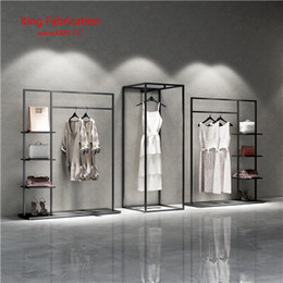 women clothing store Australia - Clothing store display stand men and women clothing shelf clothes display shelf