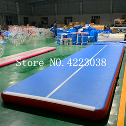 $enCountryForm.capitalKeyWord Australia - Free Shipping 8*2*0.2m Inflatable Tumble Track Trampoline Air Track Gymnastics Inflatable Air Mat Come With a Pump