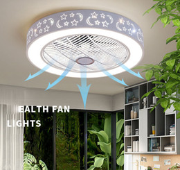 Dining room fans online shopping - Smart Ceiling Fan Control with Cell Phone Wi Fi Indoor home ceiling fan with Light Pendant Lamps