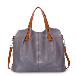 Vente en gros Sac femme 100% en cuir véritable sacs à main sacs à bandoulière pour les femmes épaule en cuir véritable bolsa feminina Tote # 44268