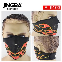 $enCountryForm.capitalKeyWord Australia - JINGBA SUPPORT Neoprene Outdoor sport half face mask riding bike ski mask Halloween Skull Cool Manufacturer Dropshipping