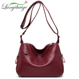 ladies handbags compartments Australia - Sac A Main Fashion lady shoulder bag leather crossbody bags Vintage women's crossbody bag uxury handbags women bags