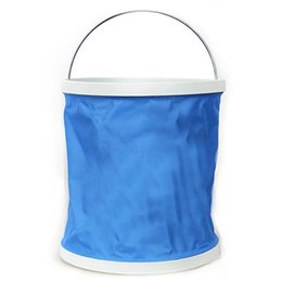 $enCountryForm.capitalKeyWord Australia - Campleader Foldable Water Bucket 9L Car Wash Camping Fishing Cleaning Foldable Bucket Products Retractable Water Bags