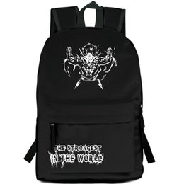 c0908df80f81 Grappler Baki backpack Hanma Yujiro day pack Cool cartoon school bag Anime  packsack Print rucksack Sport schoolbag Outdoor daypack
