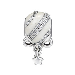 $enCountryForm.capitalKeyWord Australia - New Authentic 925 Sterling Silver Bead Exquisite Christmas Ornament Charm Fit Original Pandora Bracelet DIY Jewelry For Women Xmas Gift