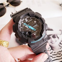 $enCountryForm.capitalKeyWord Canada - GAX-100 Electronic Sports Men Watch GA Triple Induction Solar Life Waterproof and shockproof World Time LED Watch 14 Colors