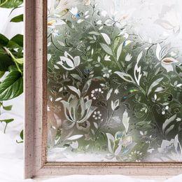 $enCountryForm.capitalKeyWord UK - Cottoncolors Bedroom Bathroom Pvc Privacy Film No-glue 3d Static Flower Decoration Window Glass Sticker Size 60 X 200cm Q190601