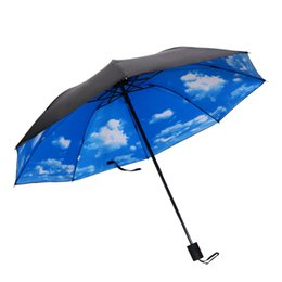 $enCountryForm.capitalKeyWord Australia - Hot Sale Mini Folding Umbrella Anti-UV Sun Rain Pocket Parasol Women Umbrella for Men Sun Rain Gear Parasol