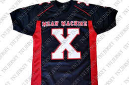 Youth Football Jersey Black NZ - wholesale Battle X Mean Machine Longest Yard Movie New Football Jersey Black Stitched Custom any number name MEN WOMEN YOUTH Football JERSEY