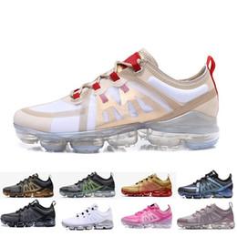 best website b7444 f107a Nike air max vapormax 2019 TN Plus scarpe da corsa per uomo donna Triple  nero bianco argento cremisi oro Oreo uomini uomini trainer economici  formato 36-45 ...