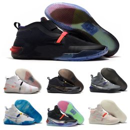 Lace puLL online shopping - New Arrival Kobe AD NXT FF QUADFIT Vast Grey Starting Fastfit Pull Basketball Shoes Mens Trainers Kobe Warriors Sports Sneakers Size