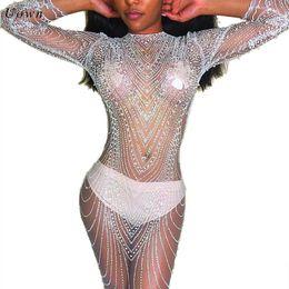 32779f56d5938 Sequin For Women UK - Sexy Sheer Mesh Long Sleeve Sequin Dress Women O Neck  Sparkly