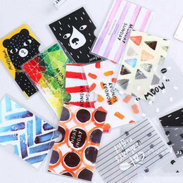 Print id card online shopping - Women Credit Card Holder ID Cards Student Cute Cartoon PVC Printed Passport Wallet Business Card Wallet Protector Card Holder MMA1290