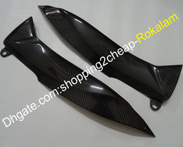 carbon fairings UK - Carbon Fiber Tank Side Covers Panels Fairing For Suzuki GSXR1000 2009 2010 2011 2012 2013 2014 2015 2016 K9 Cover Panel