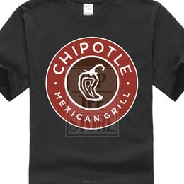food t shirts Australia - Printed Men T Shirt Short Sleeve Funny Tee Shirts New Grill Burrito Chipotle Mexican Food Men'S T Shirt