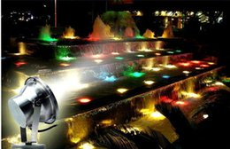 9w Pool Australia - 1pcs RGB green white 6W 9W 12W 18W 36W LED pond flood light pool spot light LED Underwater light LE