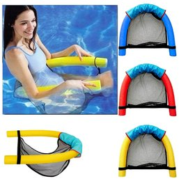 $enCountryForm.capitalKeyWord NZ - 1Pcs Noodle Pool Floating Chair 6.5*150cm Swimming Pool Seats Amazing Floating Bed Chair Noodle