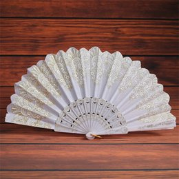 $enCountryForm.capitalKeyWord Australia - Spain Artifact Light Exquisite Bardian Folding Hand Fan Anti Wear Many Colour Dancing Chinese Style Gilding Flower 2 6kf p1