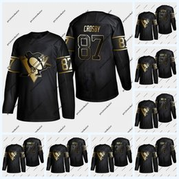 Malkin black ice jersey online shopping - Pittsburgh Penguins Golden Edition Sidney Crosby Kris Letang Evgeni Malkin Patric Hornqvist Phil Kessel Jersey