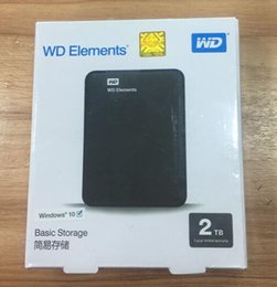 Kostenloser Versand Mobile Festplatte 2.5 '' Hdd Externes Festplattenlaufwerk 2TB USB3.0