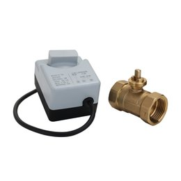 $enCountryForm.capitalKeyWord Australia - AC220V DN15 DN20 DN25 2 Way 3 Wires Brass Motorized Ball Valve Electric Actuato With Manual Switch