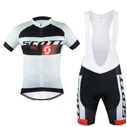 Bicycle tights online shopping - SCOTT Short Sleeve Breathable MTB Bike Clothing men Bicycle Clothes Ropa Ciclismo Cycling Jersey Set Tights Bib Shorts