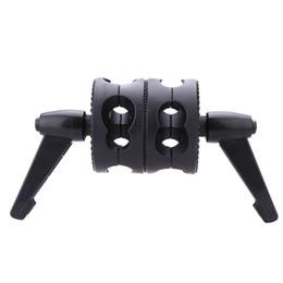 $enCountryForm.capitalKeyWord Australia - Photo Studio kits Andoer Dual Swiveling Grip Head Angle Clamp for Photo Studio Boom Arm Reflector Holder Stand
