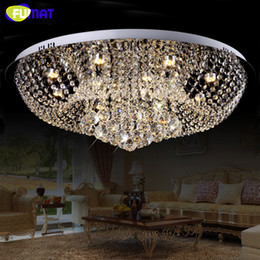 dimmer switches for lamps NZ - FUMAT LED K9 Crystal Chandelier Lamp For Living Room Dining Room Chrome Finished Art Lightings Dimmer Lustre Crystal Chandeliers