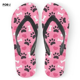 $enCountryForm.capitalKeyWord NZ - FORUDESIGNS Funny Pink Women's Flip Flops Flats Summer Fashion Ladies Home Room Slippers Shoes Woman Beach Sandals Rubber