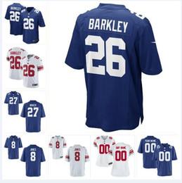 Football Giants Australia - Dexter Lawrence Daniel Jones Giants Jersey Deandre Baker Saquon Barkley Julian Love Eli Manning custom american football jerseys Sets women