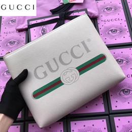 $enCountryForm.capitalKeyWord Australia - Logo Printed Leather Medium File Bag 500981 Women Long Wallet Chain Wallets Purse Clutches Evening Key Mini Belt Bags