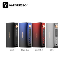 $enCountryForm.capitalKeyWord Australia - Vaporesso GEN 220W TC Box MOD 2.5A Powered by Dual 18650 Batteries 0.91' OLED Screen AXON Chipset PULSE mode Authentics e-cigs