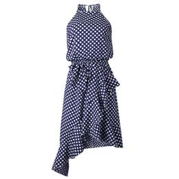 5b01440a737 Uzzdss Dress Women Summer 2019 Boho Long Evening Party Dress Beach Dot  Print Dresses Sundress Elegant Women Clothes Sexy Dresses Q190415