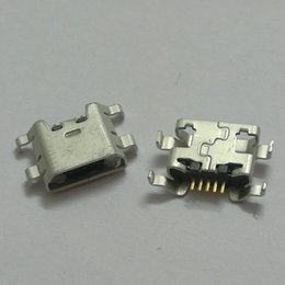 connector port socket Australia - 10pcs lot USB jack For ZTE Blade L2 S6 5.0 U807 N983 N807 U956 N5 N909 N798 N980 N986 Micro USB connector socket charging port