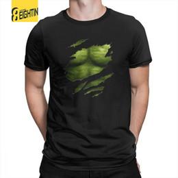 $enCountryForm.capitalKeyWord Australia - Hulk T-Shirts the Incredible Green Super Soldier T Shirts Soft Short-Sleeved 100% Cotton Printing Mens Tee Shirts Plus Size Cool