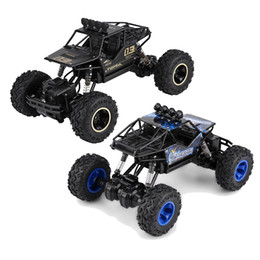 $enCountryForm.capitalKeyWord Australia - Double Motors 2.4GHz 1 16 Scale Remote Control Four-Wheel Drive Vehicle Driving Car Drive Bigfoot Car RC Model Off-road Car Toys