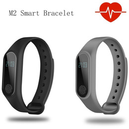 M2 Smart Bracelet Australia - IP67 M2 Smart bracelet Bluetooth 4.0 Heart Rate Sleep Monitor OLED 3D Sensor wristband for iOS Android Pedometer Fitness Tracker
