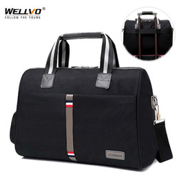 wheeled travel bags NZ - Leisure Foldable Portable Shoulder Bag Waterproof Travel bag Men Women Travel Luggage Large Multifunction Fitness Tote XA164ZCMX190906